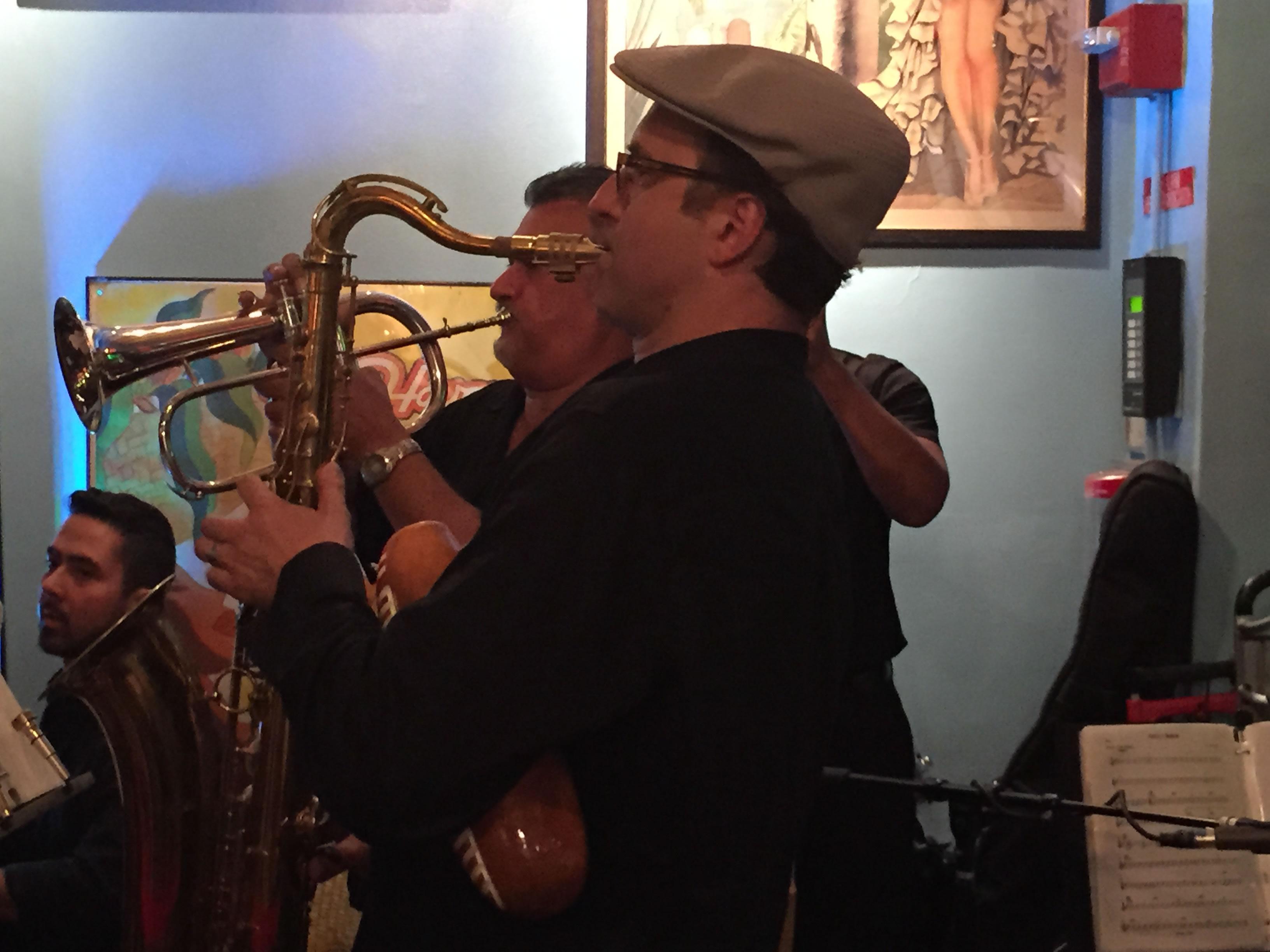 Saxophone-Trumpet-shot-Havana-Centra-Times-Square-restaurant