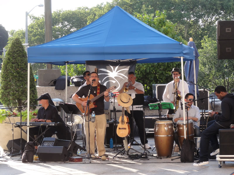 Sonido-Costeno-Latin-BandSonido Costeno Brooklyn Public Library and the outdoor music & Gallery of Photographs | Sonido Costeno